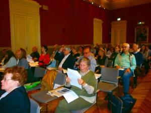 Pubblico in sala - sede della conferenza del 31.05.2019